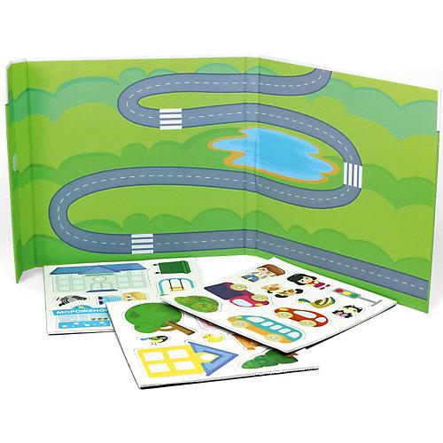 """Игра в дорогу Десятое королевство """"Магнитные истории: Городок"""" от Десятое королевство"""