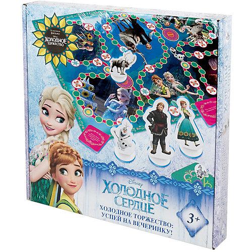 """Настольная игра-ходилка Десятое королевство Disney """"Холодное сердце"""" от Десятое королевство"""