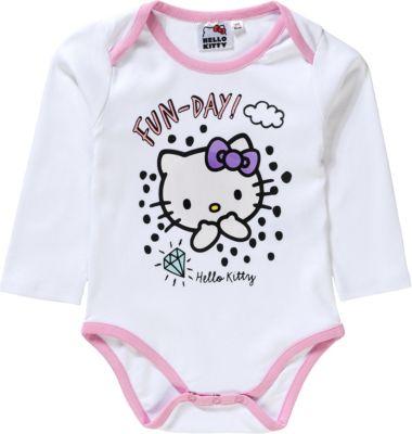 Weiß Strampler Hello Kitty Baby Body