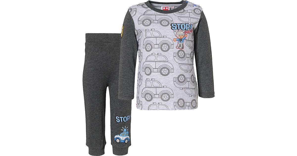 LEGO Baby Schlafanzug  grau Gr. 68 Jungen Baby