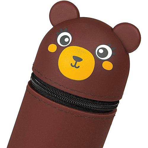 Пенал мягкий Berlingo Bear, коричневый от Berlingo