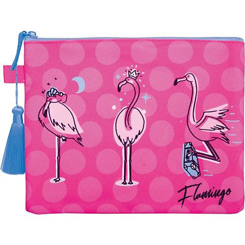 Папка на молнии Berlingo Flamingo, А5 от Berlingo