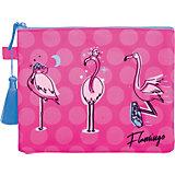 Папка на молнии Berlingo Flamingo, А5