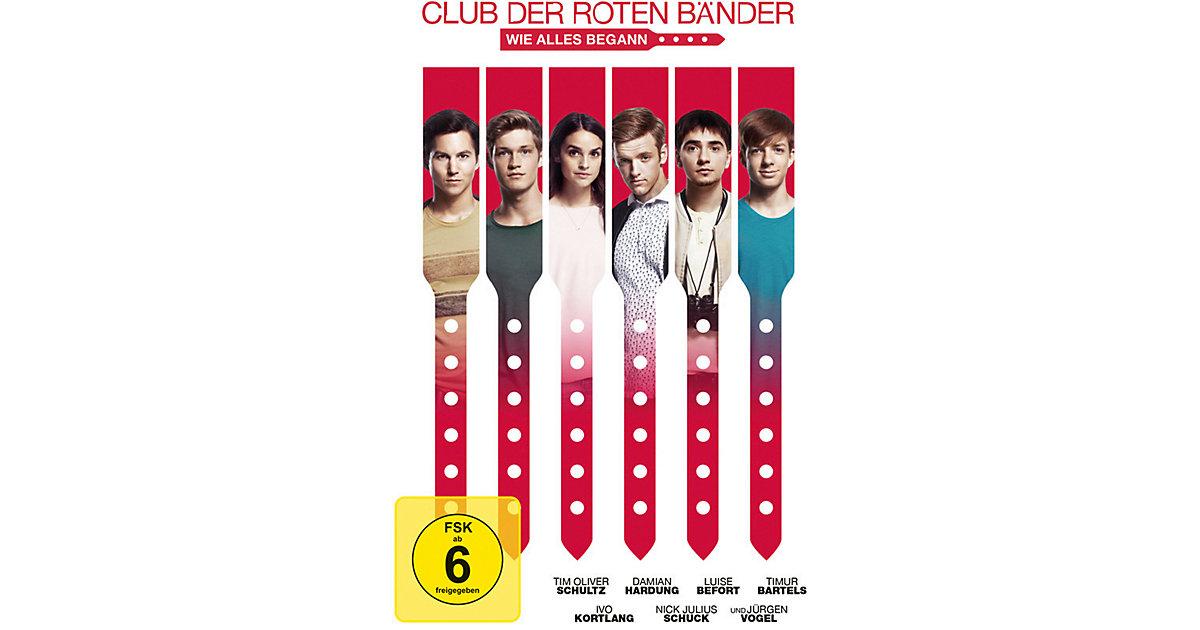 DVD Club der roten Bänder - Wie alles begann Hörbuch