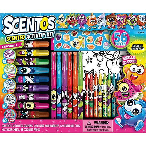 Ароматизированный набор для творчества Scentos, 56 предметов от Scentos