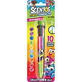 Ароматизированная шариковая ручка Scentos, 10 цветов, зелёная