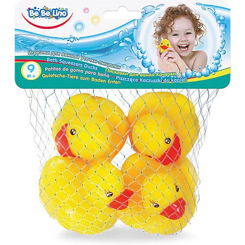"""Игрушки для ванной ToysLab Bebelino """"Уточки-пищалки"""" от Toys Lab"""