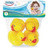 """Игрушки для ванной ToysLab Bebelino """"Уточки-пищалки"""""""