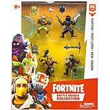 Игровой набор Moose Fortnite, 4 фигурки: Раптор, Повелитель ржавчины, Рекс, Ворон