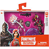 Игровой набор Moose Fortnite Черный рыцарь и Баскетбольная душа, 2 фигурки с аксессуарами