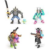 Игровой набор Moose Fortnite, 4 фигурки: Оборотень, Темный рейнджер, Эм Си Лама, Наездник