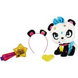 Мягкая игрушка Shimmer Stars Панда с сумочкой, 20 см