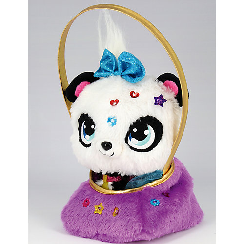 Мягкая игрушка Shimmer Stars Панда с сумочкой, 20 см от Shimmer Stars