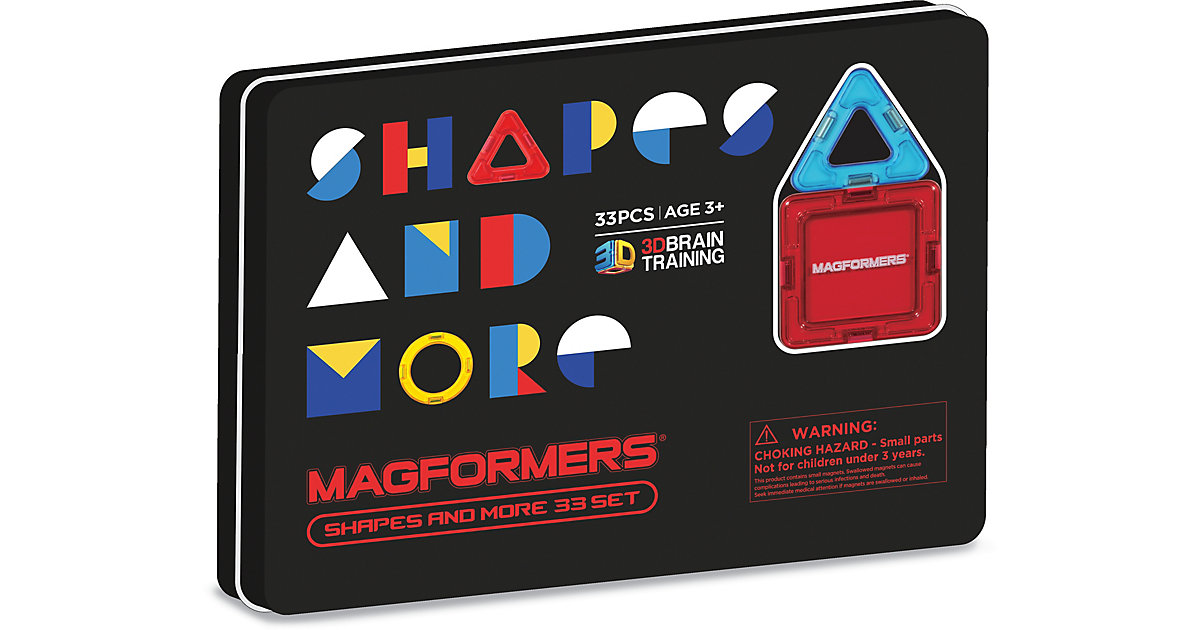 Magformers Shapes and more 33 Teile bunt