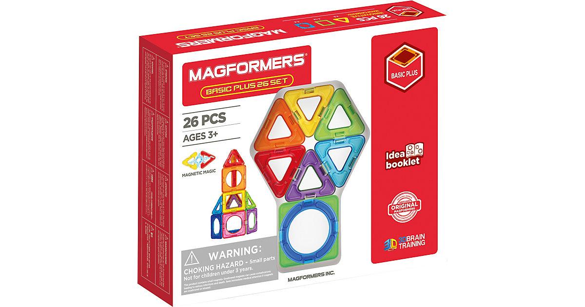 Magformers Basic Plus 26 Set bunt