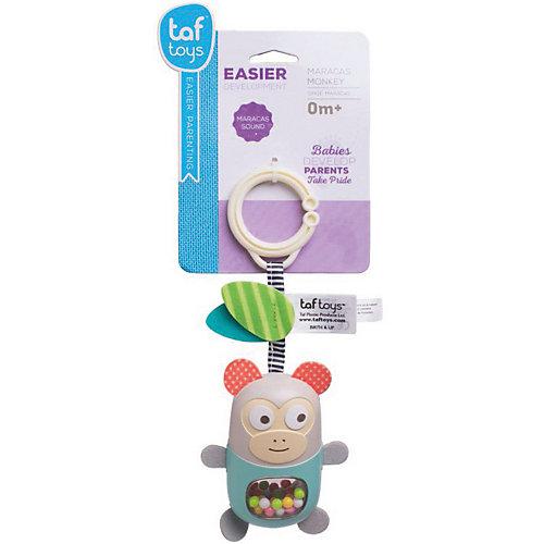 """Развивающая игрушка-подвеска Taf Toys """"Обезьянка"""" с прорезывателем от TAF TOYS"""