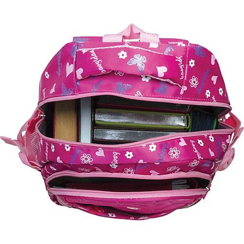 """Рюкзак Brauberg """"Сердечки"""", розовый - розовый от Brauberg"""