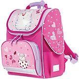 "Ранец Brauberg Style ""Кошка и мышка"", розовый"