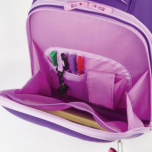 """Ранец Brauberg Premium """"Рыжая лиса"""", с брелоком, фиолетовый - фиолетовый от Brauberg"""