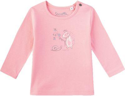 Sanetta Baby-M/ädchen Shirt Langarmshirt