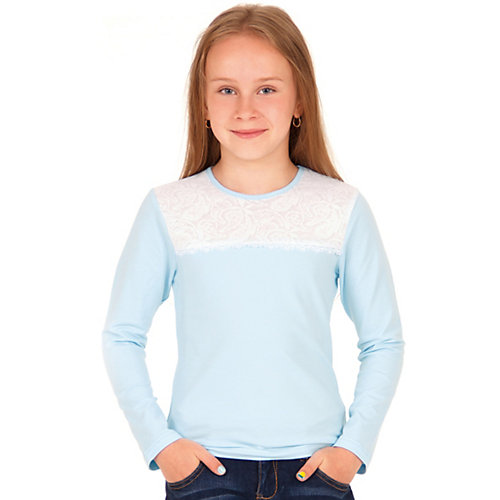 Лонгслив Апрель - голубой от Апрель