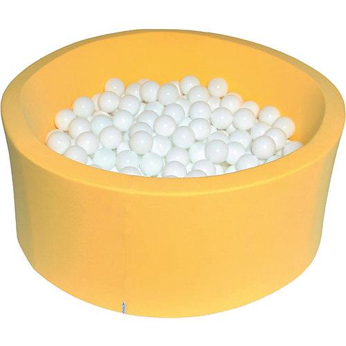"""Сухой бассейн Hotenok """"Снег в лучах"""" 40 см, 200 шариков от Hotenok"""