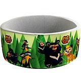 """Сухой бассейн Hotenok """"Лео и Тиг"""", серый с зелеными деревьями, 40 см"""