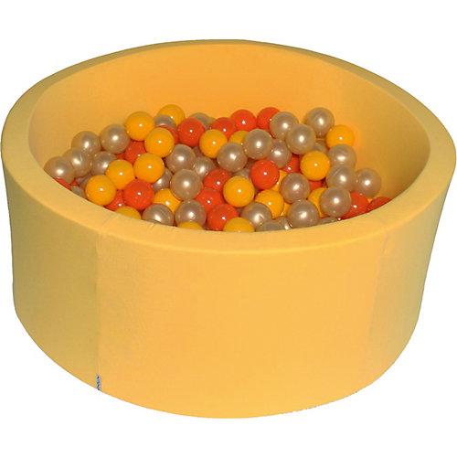 """Сухой бассейн Hotenok """"Желтое золото"""" 40 см, 200 шариков от Hotenok"""