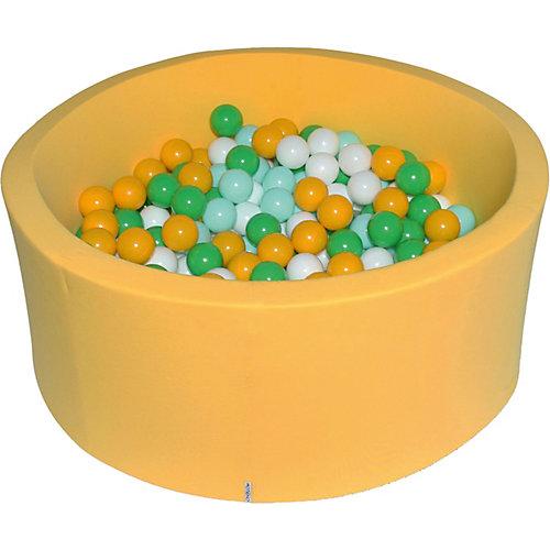 """Сухой бассейн Hotenok """"Солнечная поляна"""" 40 см, 200 шариков от Hotenok"""