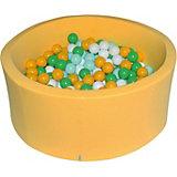 """Сухой бассейн Hotenok """"Солнечная поляна"""" 40 см, 200 шариков"""