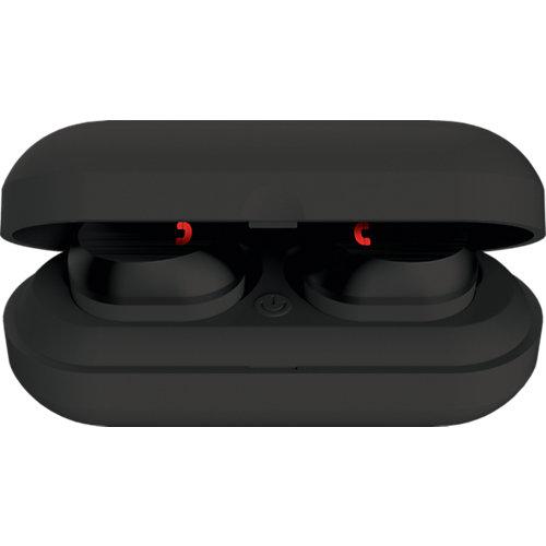 Наушники Elari NanoPods Sport, черные