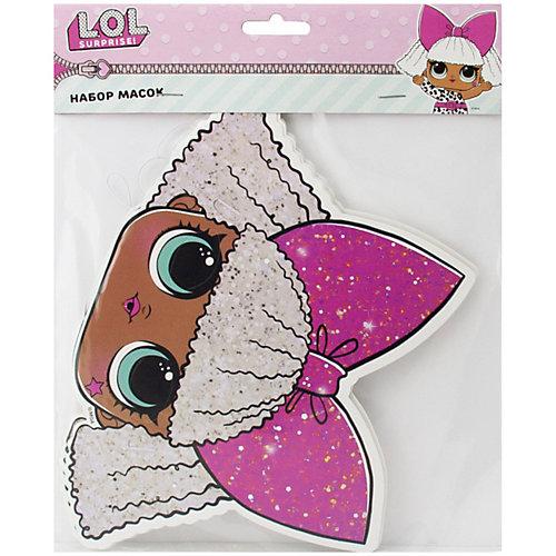 Набор масок L.O.L. кукла, 6 шт - розовый от ND Play