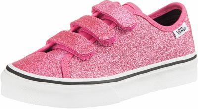 Sneakers Low Glitzer für Mädchen, VANS