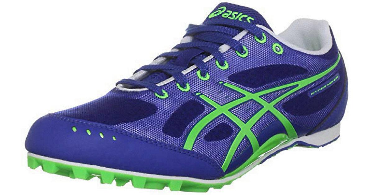Asics Schuh HYPER MD 4785 BLUE/NEON GREE Trailrunningschuhe mehrfarbig Gr. 17 | Schuhe > Sportschuhe > Outdoorschuhe | ASICS