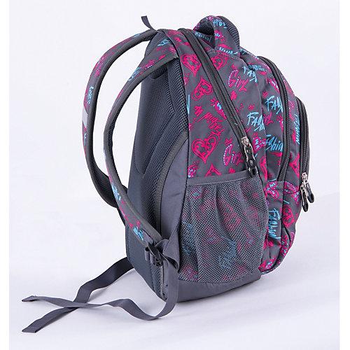 Рюкзак Pulse Teens Fashion girl, серый - разноцветный от Pulse