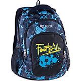 Рюкзак Pulse Teens Blue football, черный