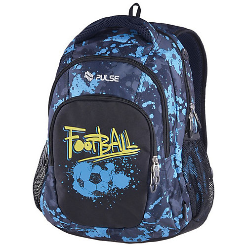 Рюкзак Pulse Teens Blue football, черный - черный от Pulse