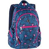 Рюкзак Pulse Dobby Pink Heart, синий