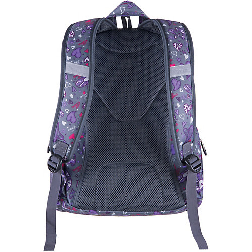 Рюкзак Pulse Dobby Purple heart, серый - разноцветный от Pulse