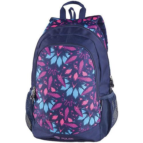 Рюкзак Pulse Cots Blue Flower, синий - синий от Pulse