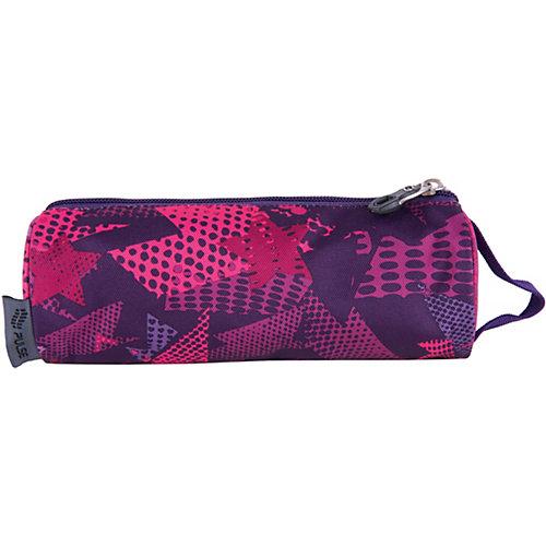 Пенал Pulse Violet stars, розовый - розовый от Pulse