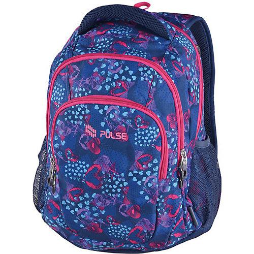 Рюкзак Pulse Teens Blue Heart, синий - разноцветный от Pulse