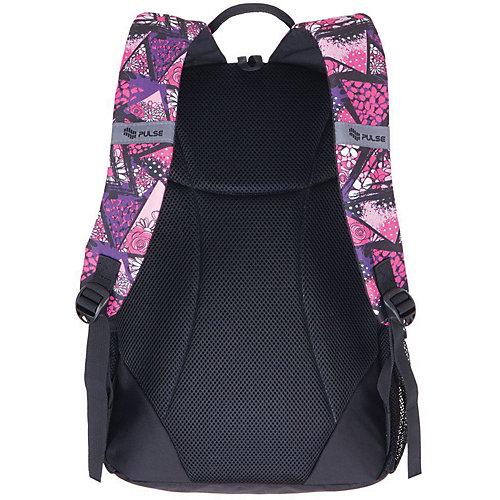 Рюкзак Pulse Cots Flower triangle, сиреневый - фиолетовый от Pulse