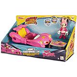 """Игровой набор IMC Toys Микки и весёлые гонки """"Автомобиль Минни"""", 2 в 1"""