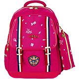 Рюкзак Aliсiia, с пеналом, розовый
