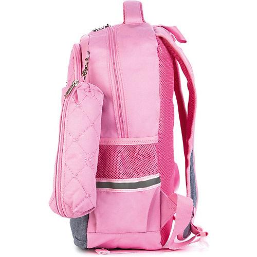 Рюкзак Aliсiia, с пеналом, розово-серый - rosa/grau от Aliciia