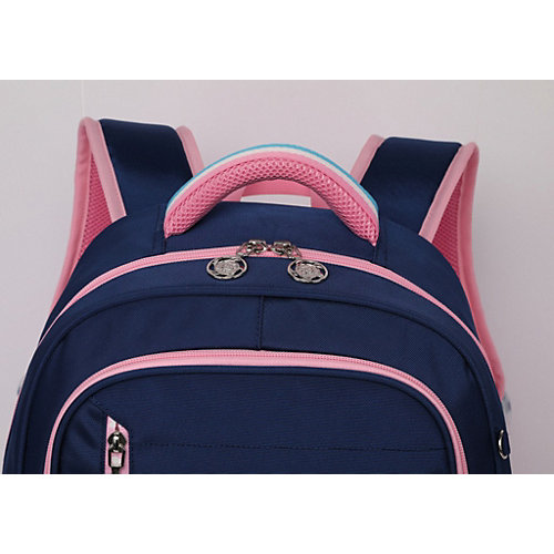 Рюкзак Aliсiia, с пеналом, сине-розовый - hellblau/rosa от Aliciia