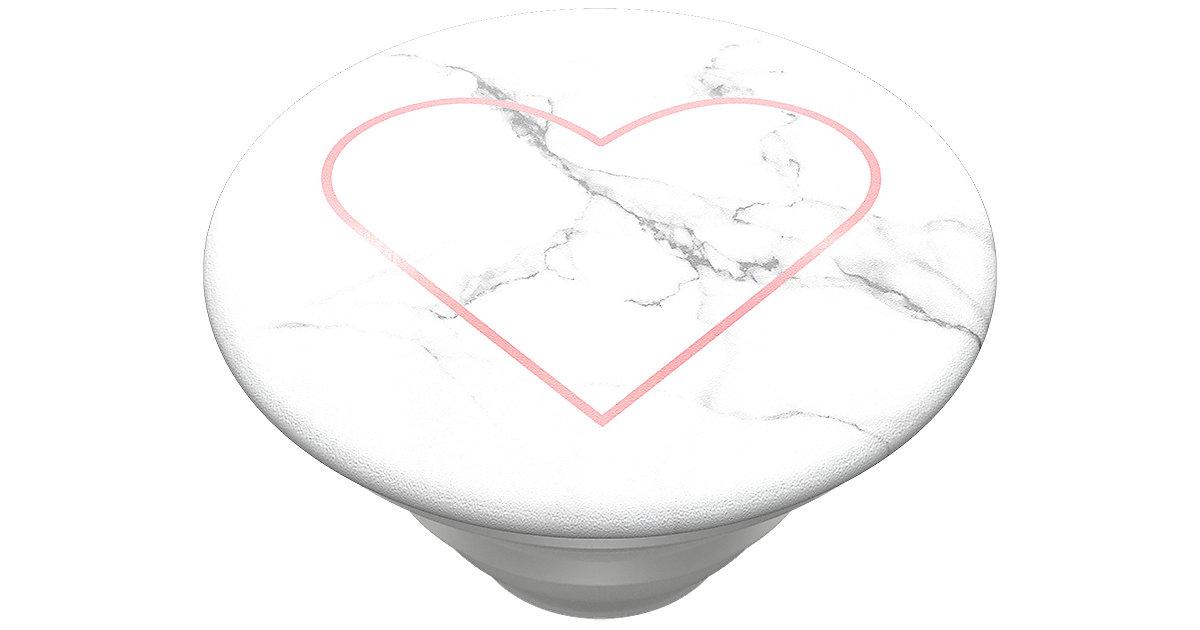 PopGrip Stoney Heart weiß Modell 3