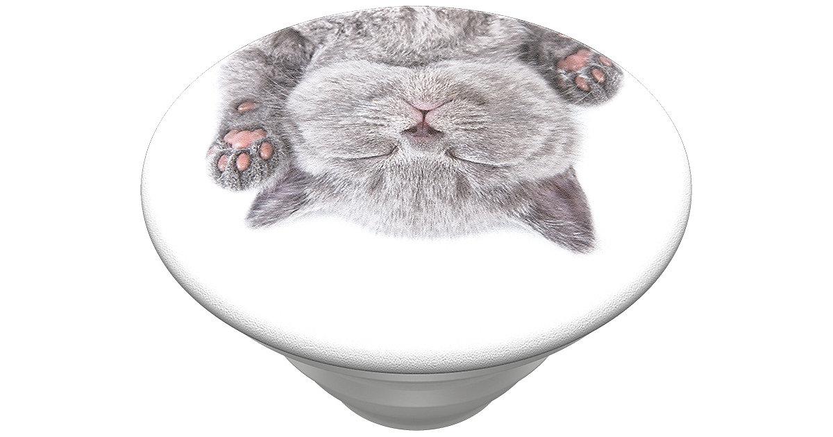 PopGrip Cat Nap grau/weiß