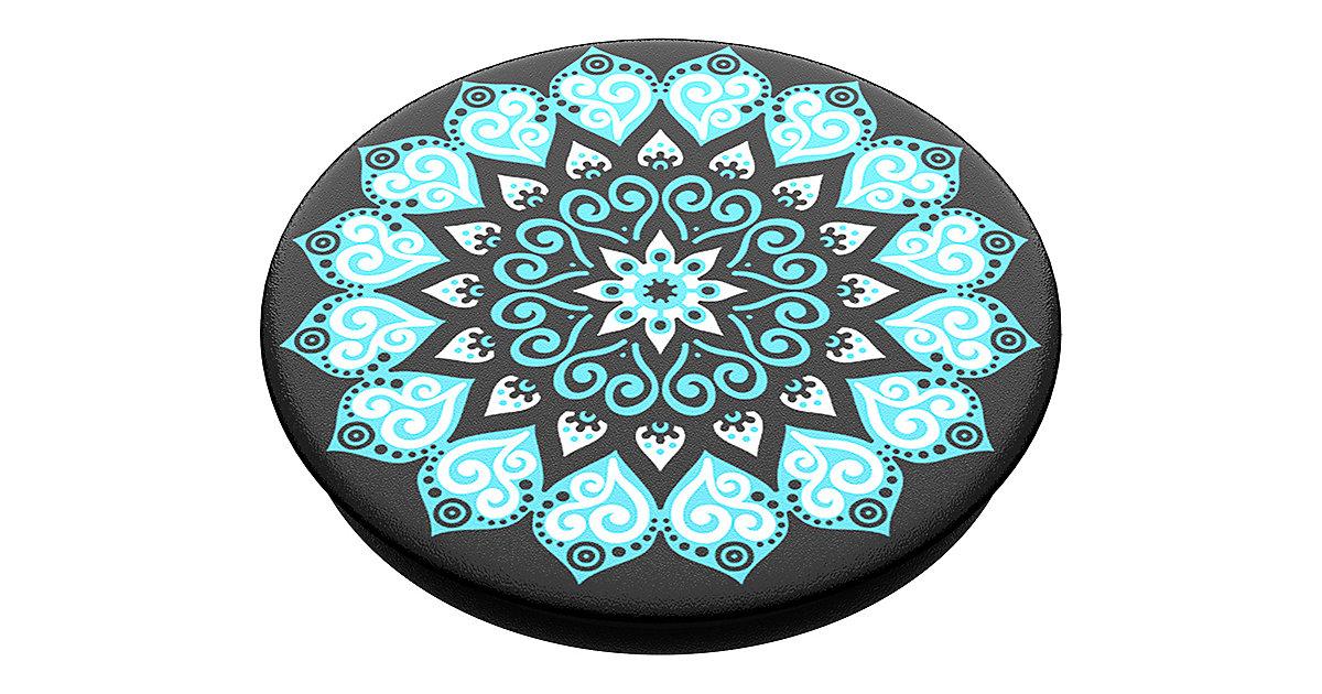PopGrip Peace Mandala Sky schwarz/petrol
